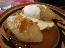 Cepelinai (potato dumplings).