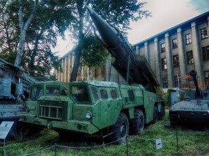 Scud-B Ballistic Missile Launcher