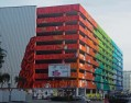 Warsaw coloured building
