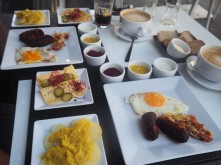 "Polish Breakfast (actually called a ""German Breakfast"")"