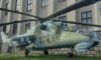 Mil Mi-24D (NATO: Hind) Warsaw