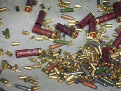 Gun shells assorted