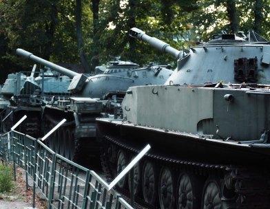 Polish tanks