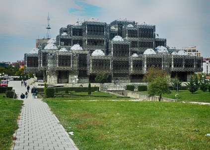 National Library of Kosovo in Pristina