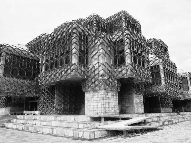 National Library of Kosovo World's Ugliest Building Architecture in Prishtina