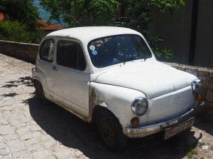 Old Zastava Car of Former Yugoslavia