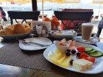 Hotel Aleksandrija Breakfast, Lake Ohrid, Macedonia