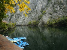 Matka canyon in Macedonia