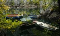 Matka Canyon boats