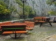Matka canyon in Macedonia