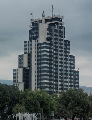 National TV station building, Skopje