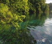 St. Naum lake and springs