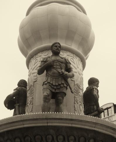Skopje monument