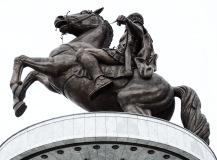 Equestrian Warrior Alexander the Great Skopje