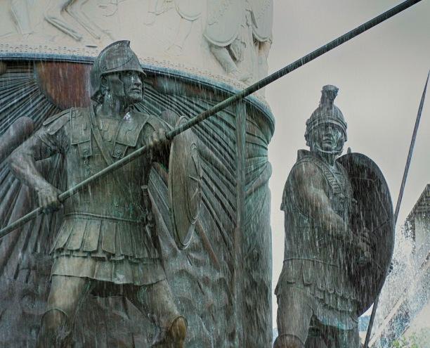 Fountain in Skopje