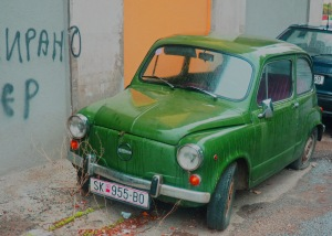 Old Zastava Cars of Former Yugoslavia