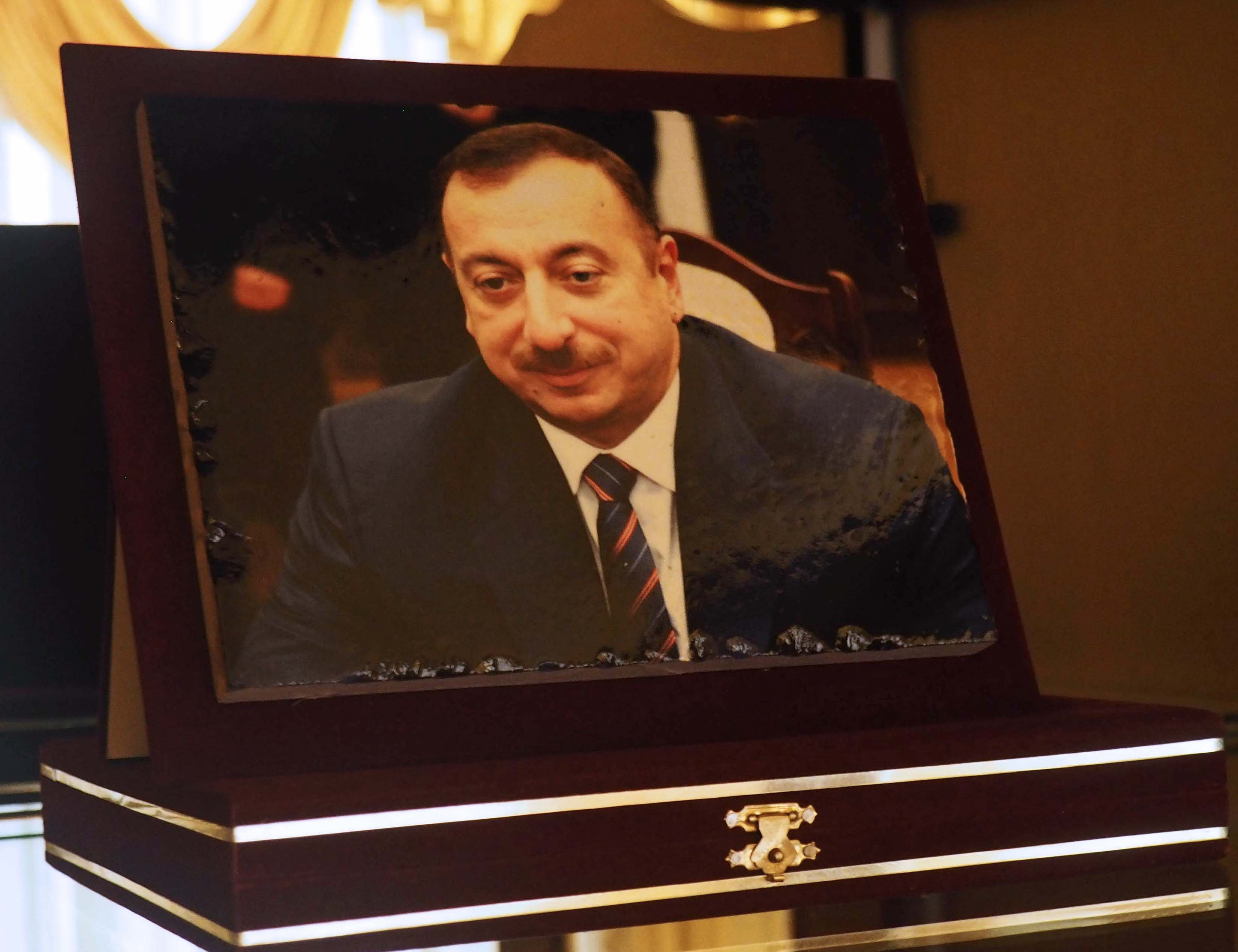 Azerbaijan's current president, Ilham Aliyev