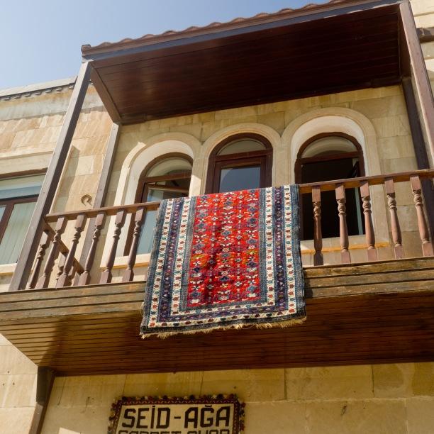 Old City balcony