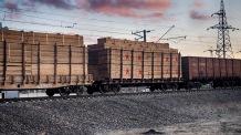 Red star train cargo