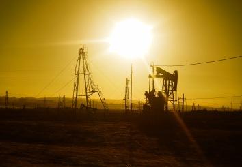 Oil fields of Baku