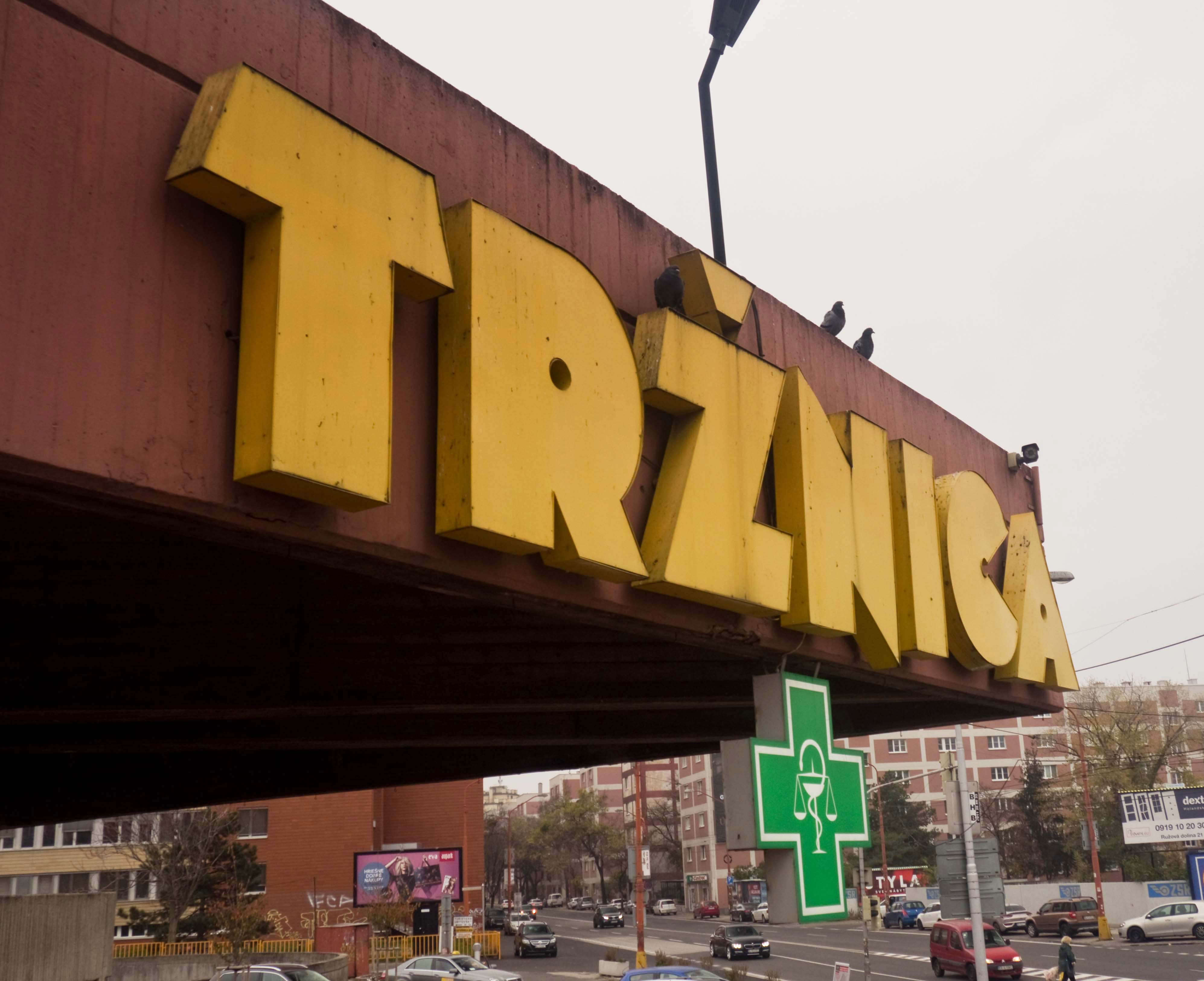 Tržnica market bratislava slovakia